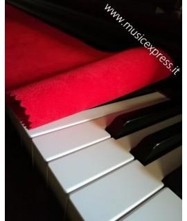 Panno Copritastiera per Pianoforte - Rosso