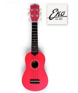 Eko Ukulele Primo Soprano Red