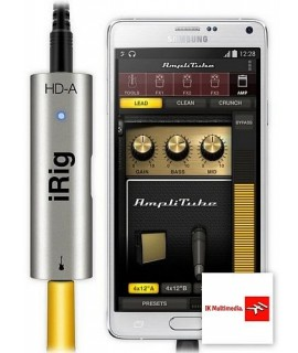 iRig HD-A - Interfaccia Digitale per Chitarra - IK Multimedia