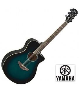 Yamaha APX600 Oriental Blue Burst
