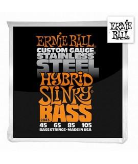 Ernie Ball 2843 Bass Stainless Steel Hybrid Slinky 45/105