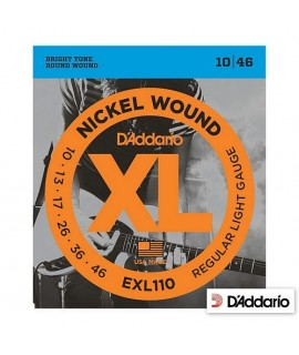 D'Addario EXL110 Regular Light 10/46