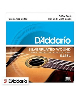 D'Addario EJ83L Gypsy Jazz Light Gauge 10/44