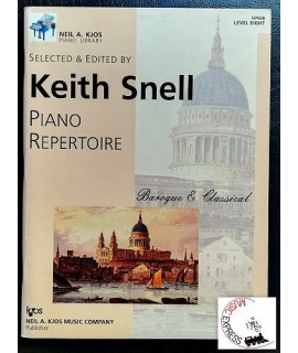 Snell - Piano Repertoire: Baroque & Classical, Level Eight