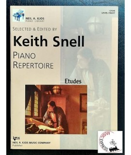 Snell - Piano Repertoire: Etudes, Level Eight
