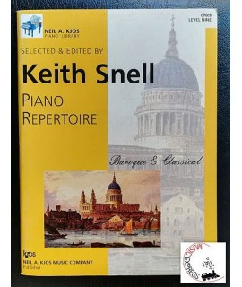 Snell - Piano Repertoire: Baroque & Classical, Level Nine