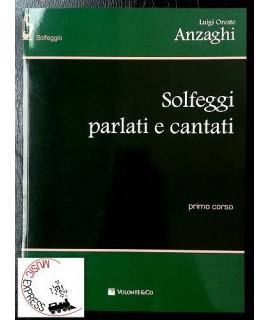 Anzaghi - Solfeggi Parlati e Cantati Primo Corso