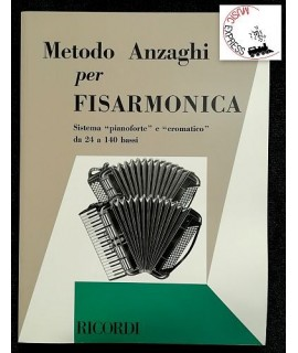 Anzaghi - Metodo Anzaghi per Fisarmonica