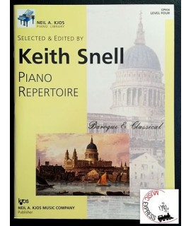 Snell - Piano Repertoire Level Four - Baroque & Classical