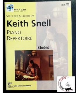 Snell - Piano Repertoire Level Four - Etudes