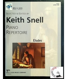 Snell - Piano Repertoire Level Five - Etudes