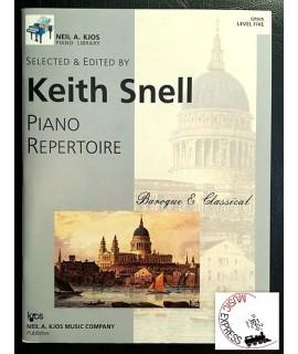 Snell - Piano Repertoire Level Five - Baroque & Classical