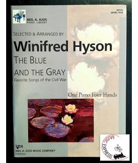 Hyson - One Piano Four Hands Level Five -  The Blue and the Grey