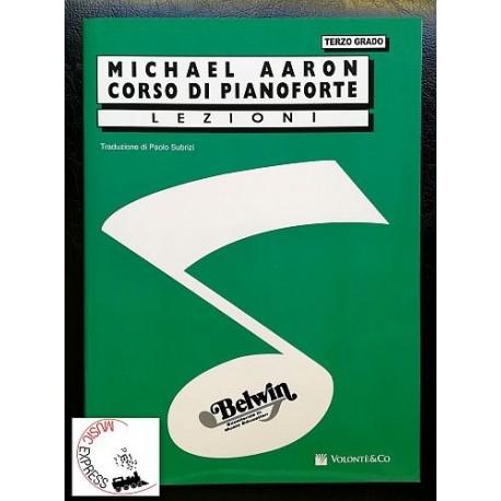 Aaron - Corso di Pianoforte Terzo Grado