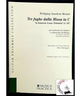 Mozart - Tre Fughe dalla Missa in C