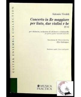 Vivaldi - Concerto in Re Maggiore per Liuto, Due Violini e Bc