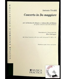 Vivaldi - Concerto in Do Maggiore per Orchestra di Chitarre e Violoncello ad libitum