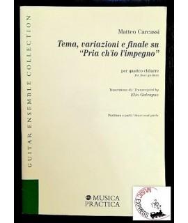 Carcassi - Tema, Variazioni e Finale su Pria ch'Io l'Impegno