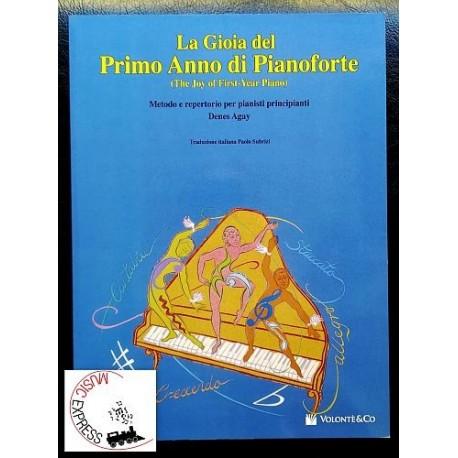 Agay - La Gioia del Primo Anno di Pianoforte - Metodo e Repertorio