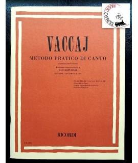 Vaccaj - Metodo Pratico di Canto Contralto o Basso
