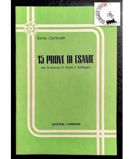 Cominetti - 15 Prove d' Esame