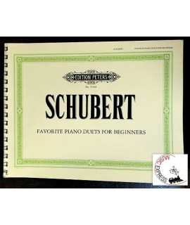 Schubert - Favorite Piano Duets For Beginners