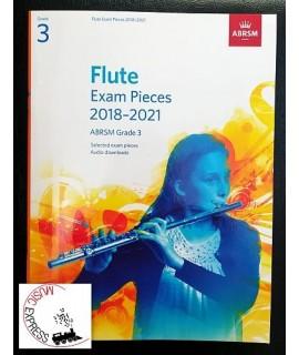 Flute Exam Pieces 2018-2021 ABRSM Grade 3