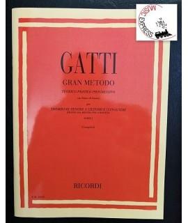 Gatti - Gran Metodo Teorico Pratico Progressivo in Chiave di Basso per Trombone Tenore a Cilindri e Congeneri Parte I