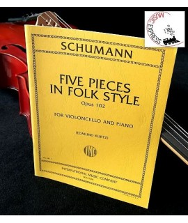Schumann - Five Pieces in Folk Style Opus 102 for Violoncello and Piano