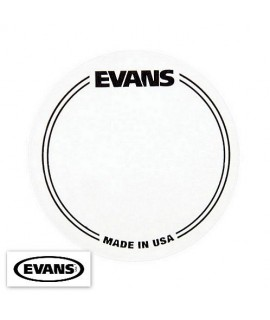 Evans EQPC1 Bass Drumhead Clear Patch