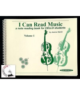 Martin - I Can Read Music - A Note Reading Book for Cello Students Volume 1