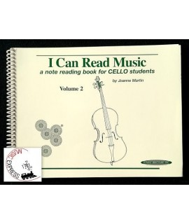Martin - I Can Read Music - A Note Reading Book for Cello Students Volume 2
