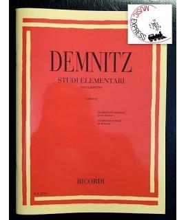 Demnitz - Studi Elementari per Clarinetto