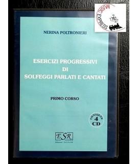 Poltronieri - Esercizi Progressivi di Solfeggi Parlati e Cantati Primo Corso 4CD