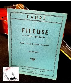 Fauré - Fileuse in G major Opus 80 No. 2