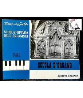 Goller - Scuola Primaria dell'Organista Terzo Corso - Scuola d'Organo
