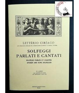 Letterio Ciriaco - Solfeggi Parlati e Cantati IV corso