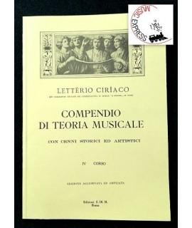 Letterio Ciriaco - Compendio di Teoria Musicale IV corso