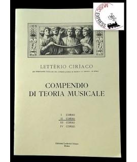 Letterio Ciriaco - Compendio di Teoria Musicale II corso