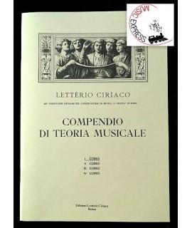 Letterio Ciriaco - Compendio di Teoria Musicale I° corso