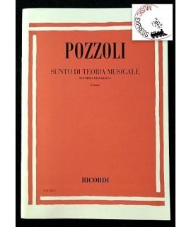 Pozzoli - Sunto di Teoria Musicale in Forma Dialogata 1° Corso