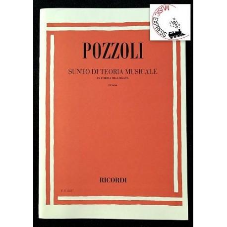 Pozzoli - Sunto di Teoria Musicale in Forma Dialogata I° Corso