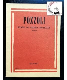 Pozzoli - Sunto di Teoria Musicale III° Corso