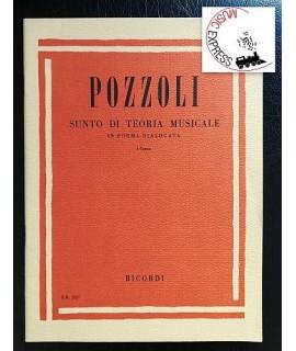 Pozzoli - Sunto di Teoria Musicale I° Corso - Ed. Ricordi 2227 - Ettore Pozzoli