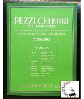 Vari - Pezzi Celebri per Pianoforte Fascicolo V°