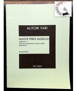 Vari - Nuove Perle Musicali Album n. 2 - Trascrizioni Facilissime per Pianoforte