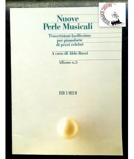 Vari - Nuove Perle Musicali Album n. 3 - Trascrizioni Facilissime per Pianoforte