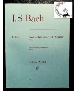 Bach - Das Wohltemperierte Klavier Teil II