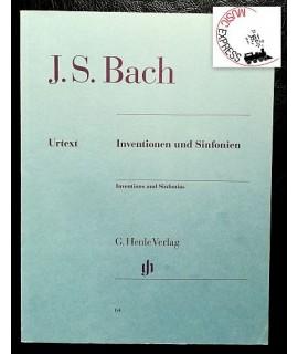 Bach - Inventionen und Sinfonien - Henle Verlag HN 64 - Johann S. Bach