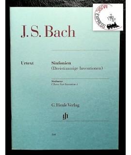 Bach - Sinfonien (Dreistimmige Inventionen)